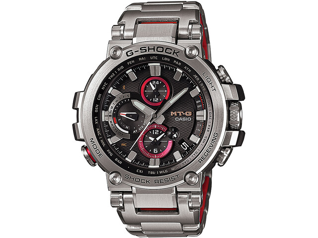 CASIO G-SHOCK MTG-B1000D-1AER Watch Men, silver/silver/black